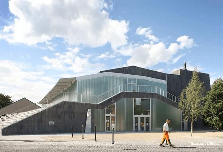 Construction du Centre Culturel de Soignies – VICTOR JARA