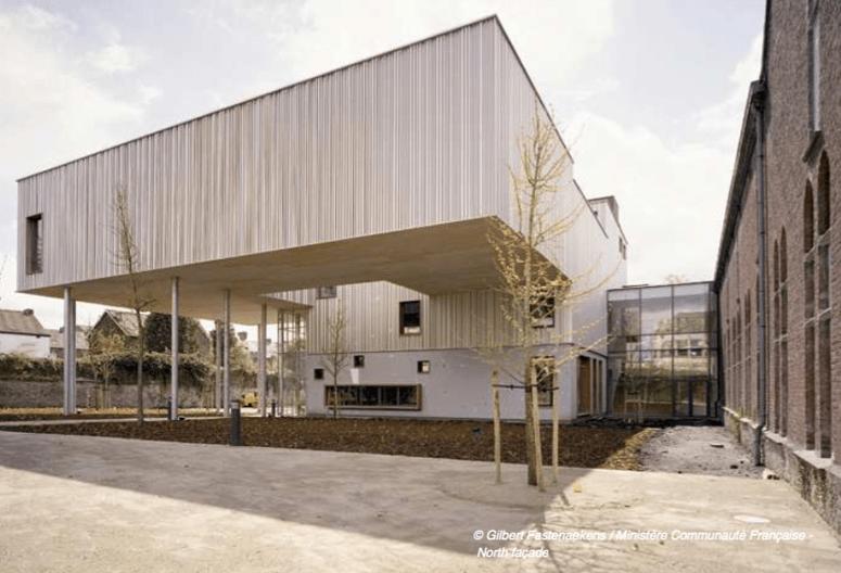 Rénovation du Musée de la Photographie de Charleroi – Belgique